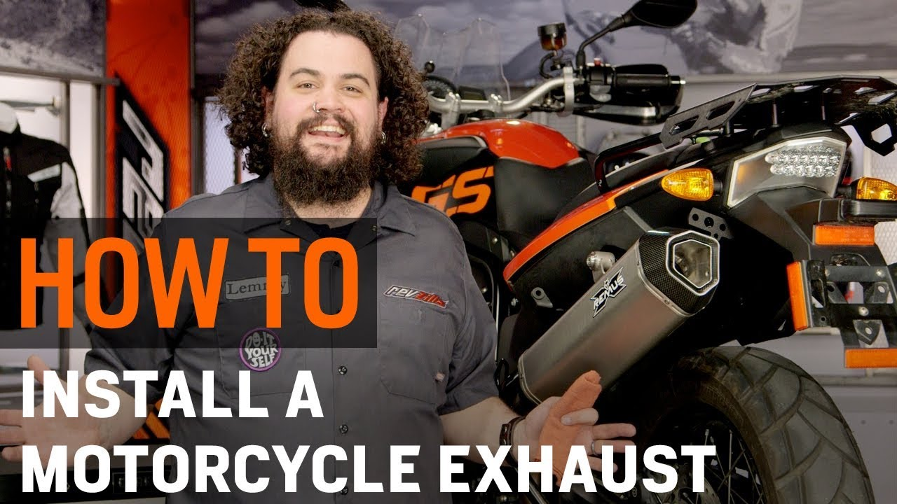 Ducati Bevel Wiring How To Install A Motorcycle Exhaust At Revzillacom Youtube