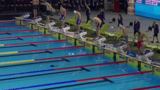 Men's 50m Freestyle final Fina World Championships Windsor 2016