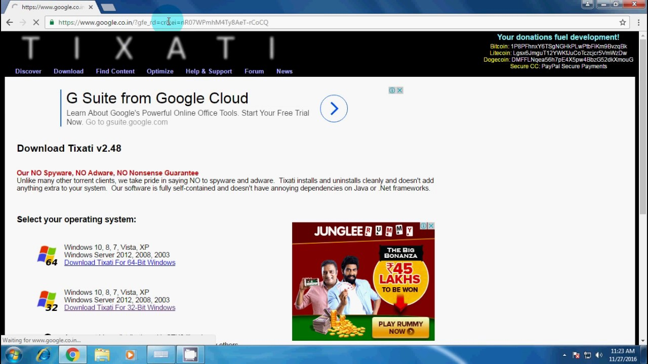 How to download torrent using tixati and utorrent youtube.