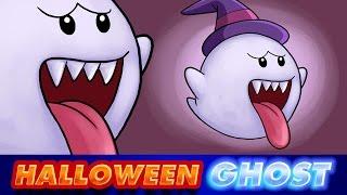 Cómo dibujar un FANTASMA HALLOWEEN | How to draw Halloween GHOST | BOO