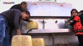 تلوث وارتفاع في نسبة الملوحة في مياه غزة