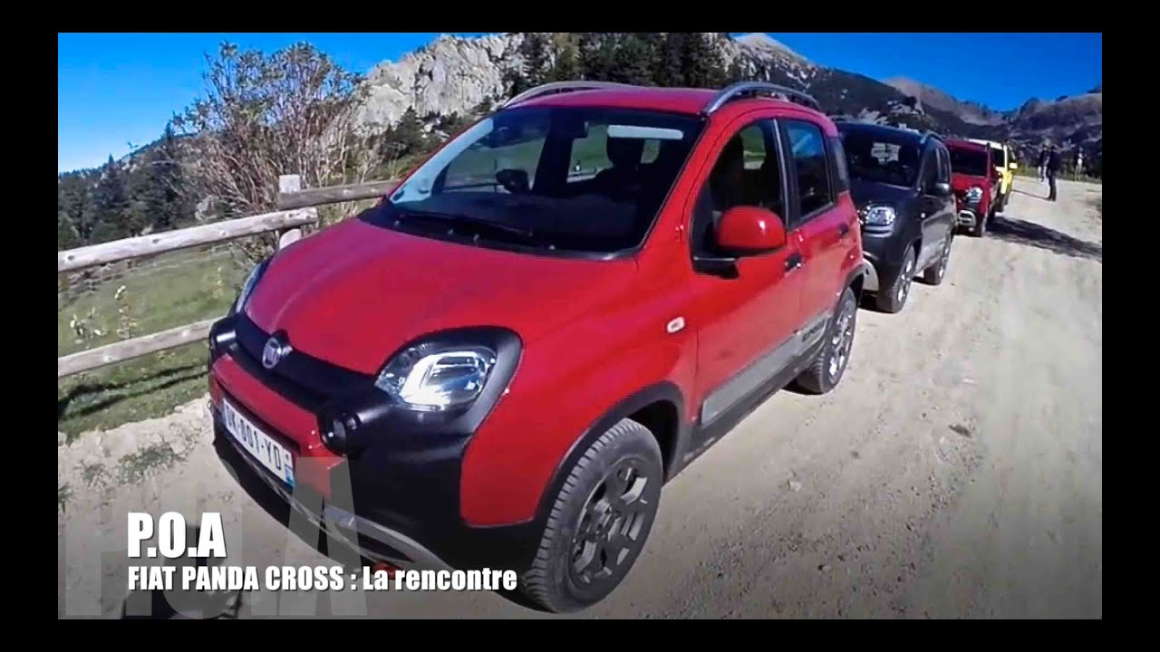 p o a fiat panda 4x4 cross la rencontre pisode 1 youtube. Black Bedroom Furniture Sets. Home Design Ideas