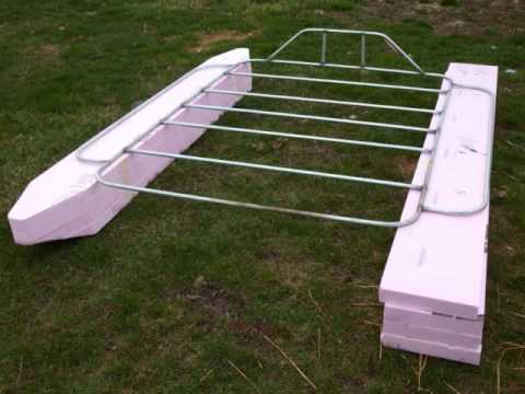 Homemade pvc pontoon boat plans