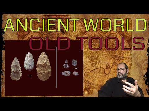 Ancient World #10   320 000 year old tools and pigments found
