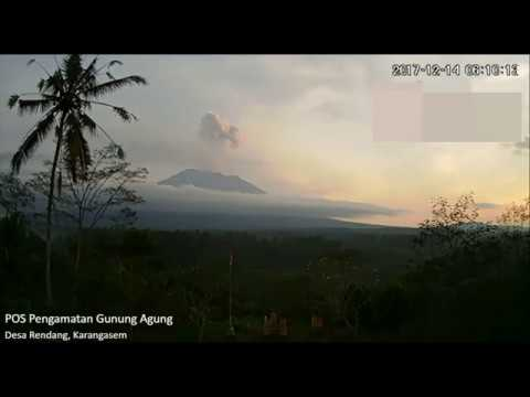 Mount Agung Eruption Last Update 14 December 2017 at 06:05
