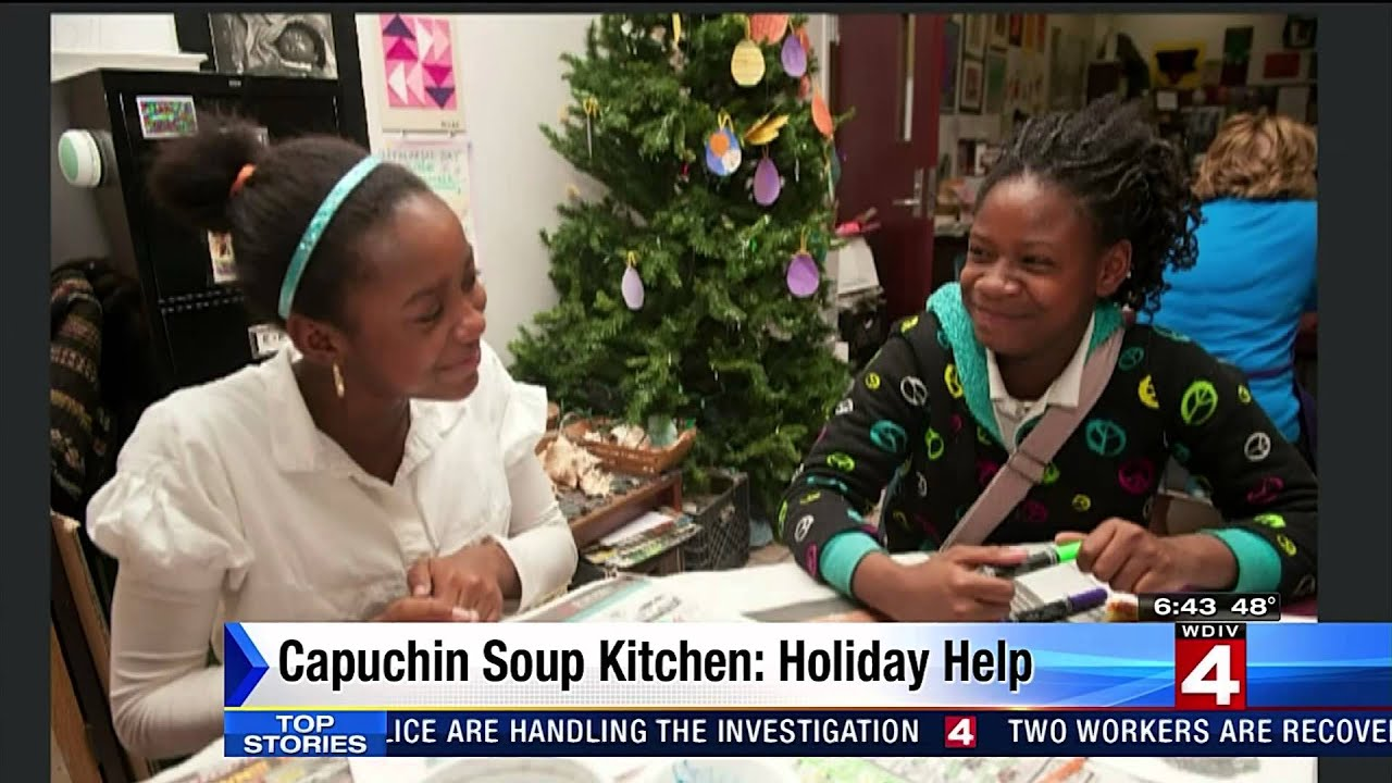 On Wdiv Local 4 Learn About All The Good Work The Capuchin Soup Kitchen Does In Detroit Youtube