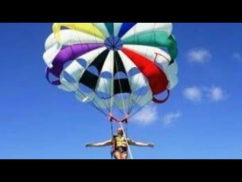 #Parasailing at #Englewood #beach #Florida #USA - YouTube
