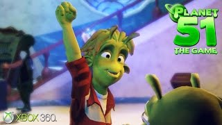 Planet 51: The Game - Xbox 360 / Ps3 Gameplay (2009)