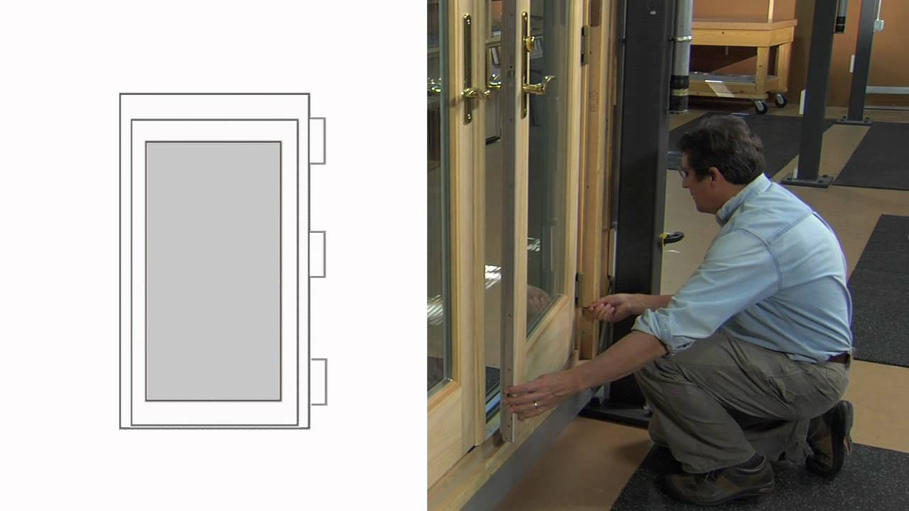 How To Adjust A Frenchwood Inswing Patio Door (Made After ...