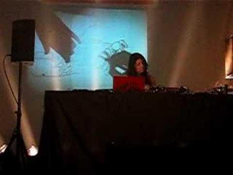 Mira Calix live at Sonar Festival 2007