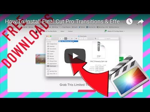 Install Transitions Final Cut Pro - publishingxsonar