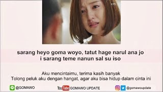 Download lagu Easy Lyric DAVICHI - THIS LOVE (OST. Descendants Of The Sun) by GOMAWO [Indo Sub]
