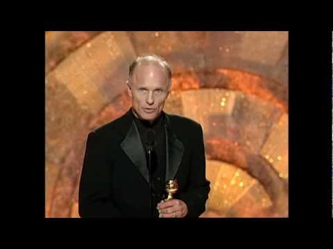 Ed Harris Wins Best Supporting Actor Motion Picture  Golden Globes 1999