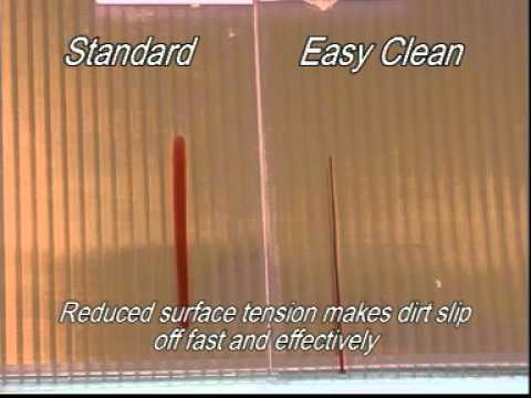 Easy Clean Coating On Lexan Thermoclear Youtube