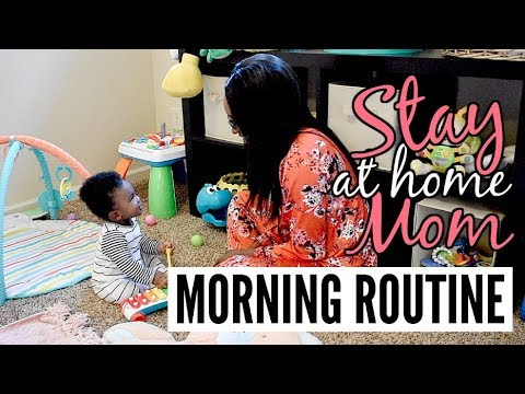 MORNING ROUTINE | STAY AT HOME MOM & BABY