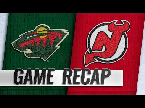 Balanced attack leads Wild to 4-2 win against Devils
