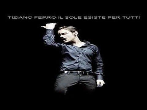 Tiziano Ferro Il Sole Esiste Per Tutti -  Live Roma( Legenda PT)