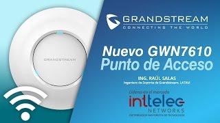 "Webinar ""Grandstream Access Point GWN7610"""