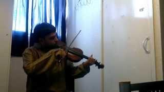 Raga Abheri by Karthik Subramany Live (Indian violin)