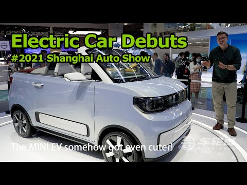 The Coolest Electric Cars From The 2021 Shanghai Auto Show