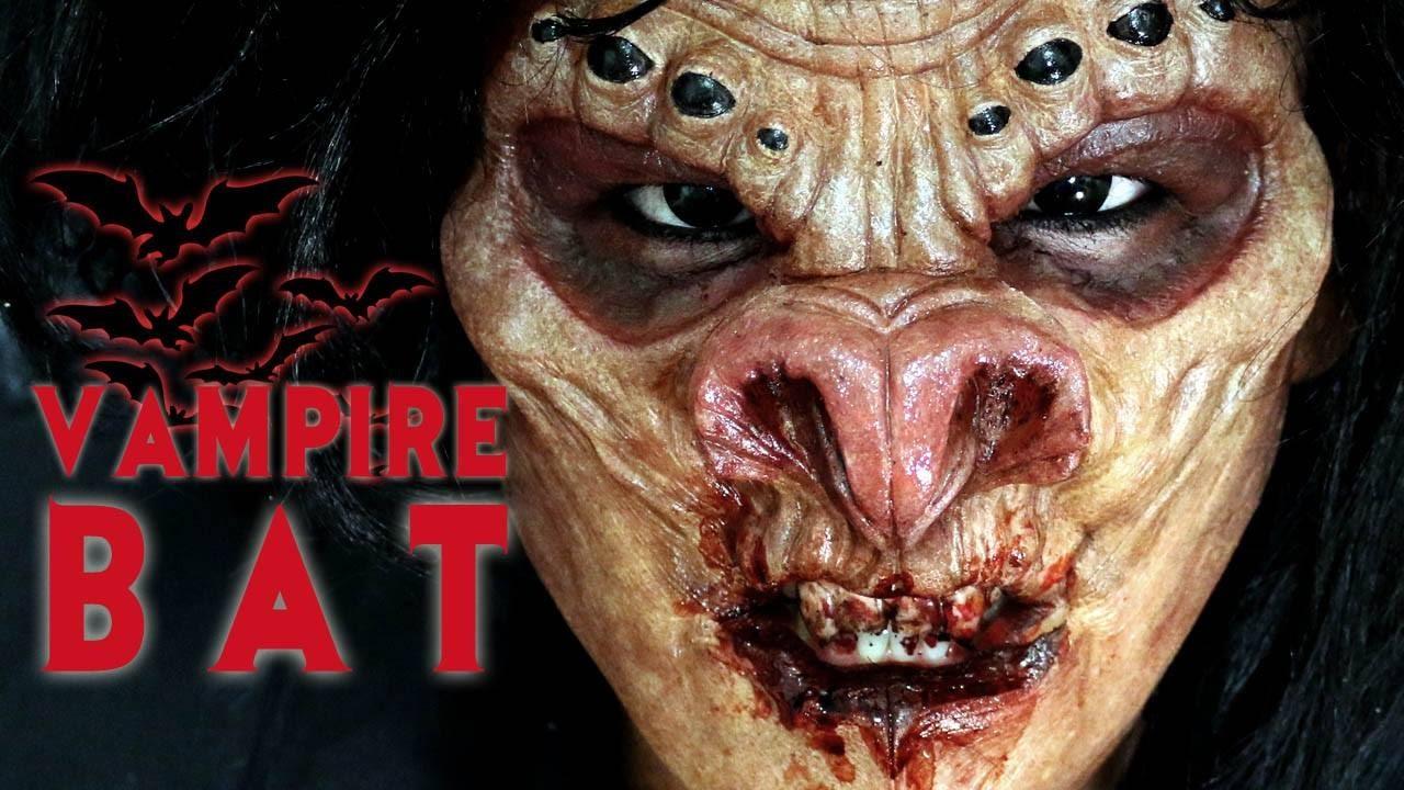 halloween makeup tutorial 6 vampire bat youtube