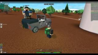 [ROBLOX: Apocalypse Rising] - Survival of the Fittest Ep 2 - Armored Jeep