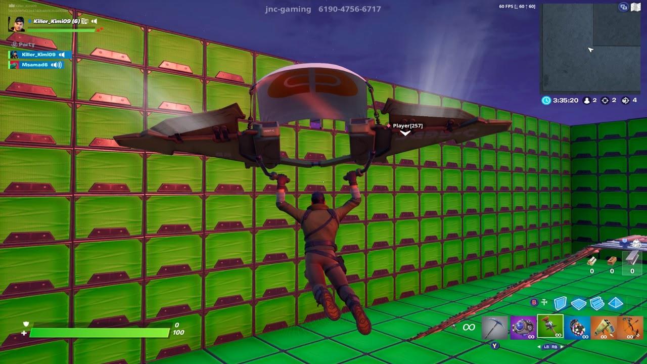 Fortnite 1v1 with any guns part 1 (creative mode) - YouTube