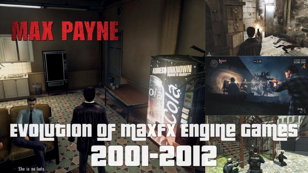 Evolution Of Maxfx Engine Games 2001 2012 Youtube