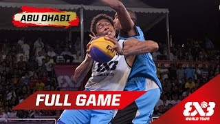 Manila North (PHI) vs Doha (QAT) - Full Game - Abu Dhabi - 2015 FIBA 3x3 World Tour Final