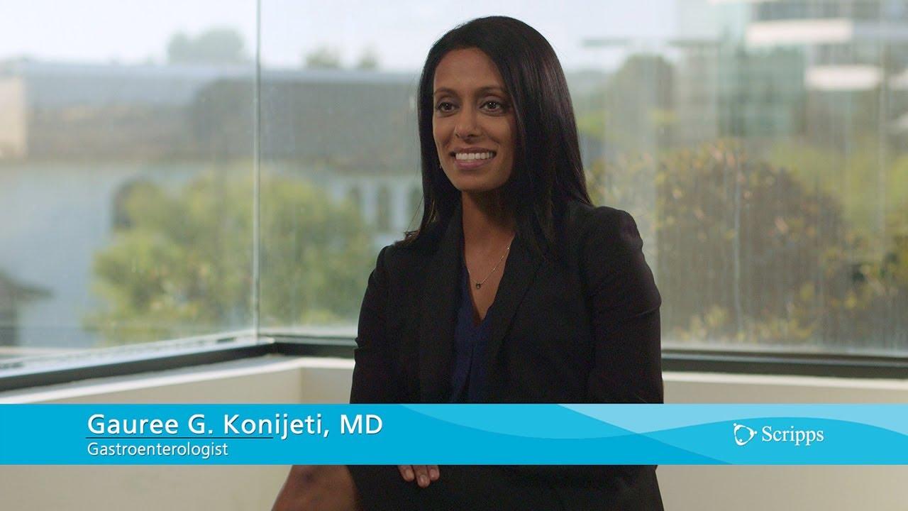 Scripps Clinic Gastroenterologist Gauree G. Konijeti, MD #Gastroenterology