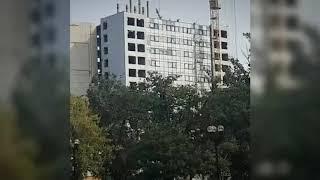 Сносят высотку на площади Ленина