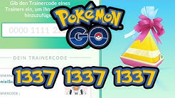 Alle Trainer-Codes *hier* | Pokémon GO Deutsch #664