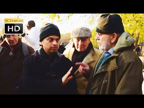 P1 - Major Issues? Mansur Vs Pakistani Major!? (Christian?) | Speakers Corner | Hyde Park