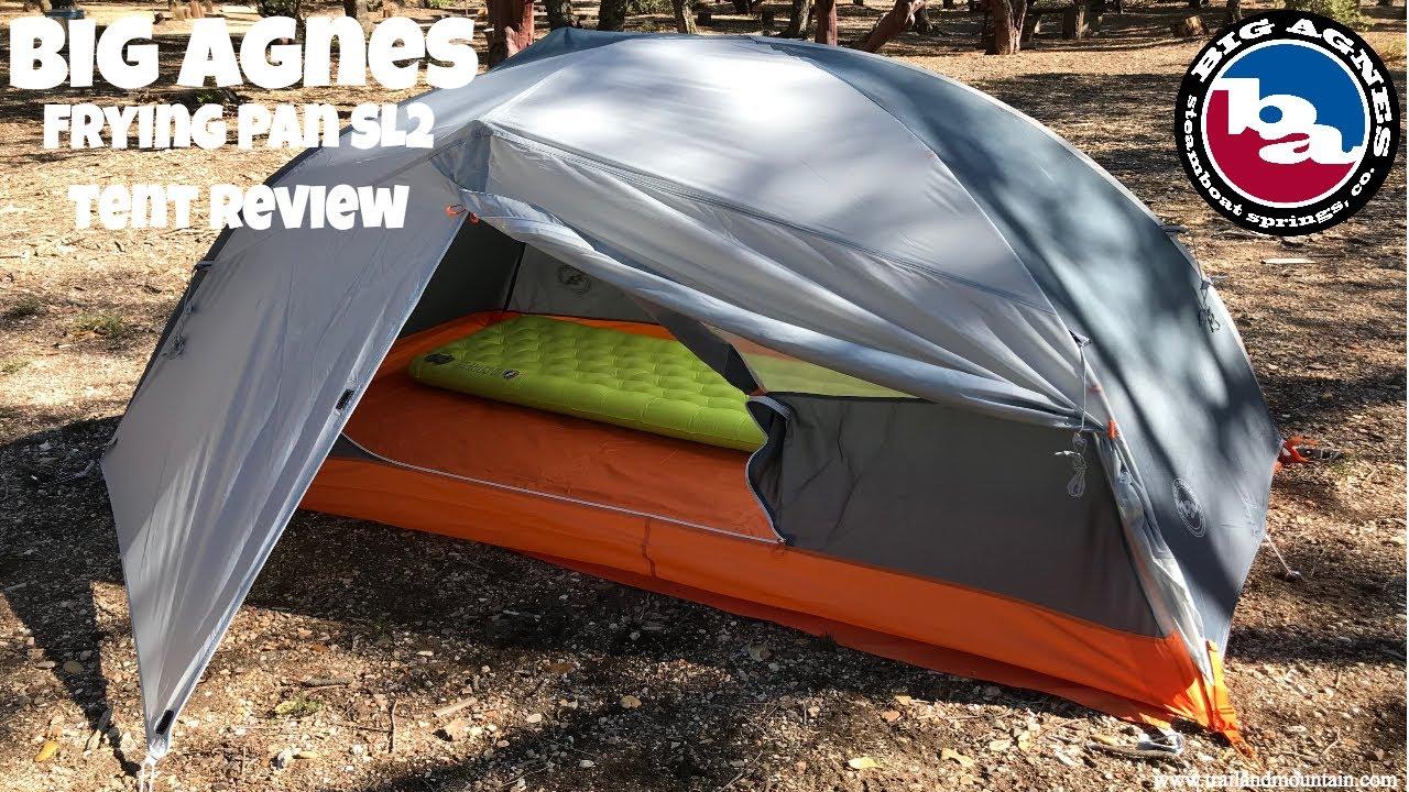 Big Agnes Frying Pan Sl2 1st Look Amp Tent Setup Review