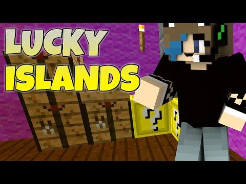 MINECRAFT | TEAM LUCKY ISLANDS | CUBE CRAFT | LUCKY BLOCKS | GAMER CHAD