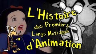 L'Histoire du début des LONGS MÉTRAGES D'ANIMATION (1917 - 1945)