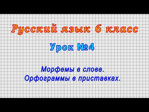 Гдз русский язык 6 класс видеоурок