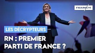 Rassemblement national : premier parti de France ?