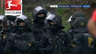 Waldhof Mannheim gegen KFC Uerdingen: alle Pyro-Szenen und Spielabbruch
