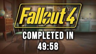 Fallout 4 :: SpeedRun - 49:58 (RTA World Record - 58:40)