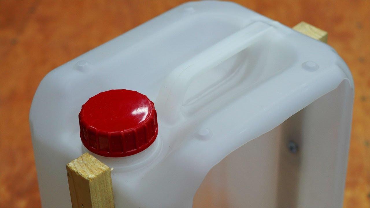 Достойное применение пластиковых канистр! Полезная самоделка!