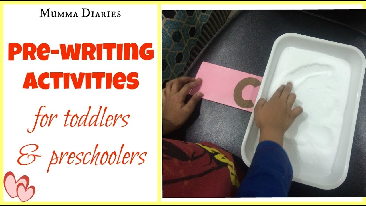How to encourage Pre-writing skills in toddlers ...
