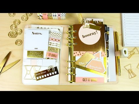 Pink Lavender Kikki K Planner and Accessories Unboxing & First Impressions