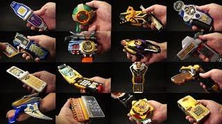 春の動画祭り!第五弾 スーパー戦隊シリーズ 追加戦士 変身アイテムズ パート1 Super Sentai Series Additional fighter Makeover Items Part 1
