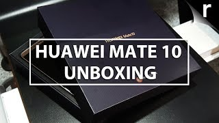 Huawei Mate 10 Unboxing, Setup & Hands-on Review