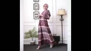 Hijab Modern Gamis Busui Dior Silky BEST SELLER Busana Muslim Maxi Dress Abaya Pesta Wanita Cantik Anggun Casual Formal