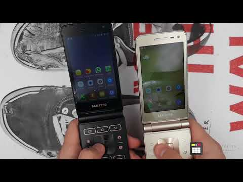 Смартфон раскладушка Samsung Folder 2 (SM-G1600) Vs Samsung Folder 2 (SM-G1650)