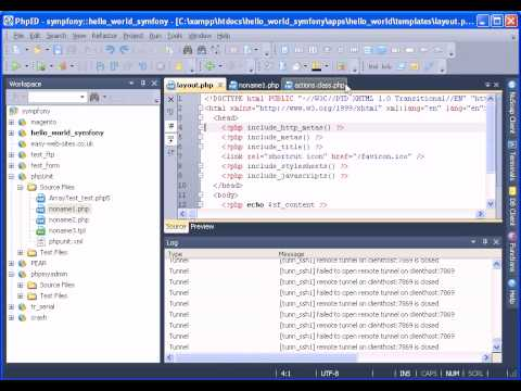 PHP IDE - Worksets In PhpED