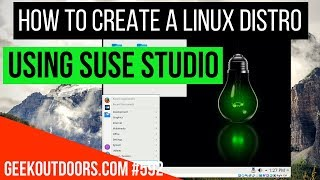 How to Create a Linux Distro (Easy Way?) | Build Your Own Linux OS Distro Geekoutdoors.com EP592