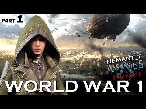 """Assassin's Creed Syndicate (PS4) WORLD WAR 1 - Hindi Gaming Part 1 """"Lydia Frye"""""""